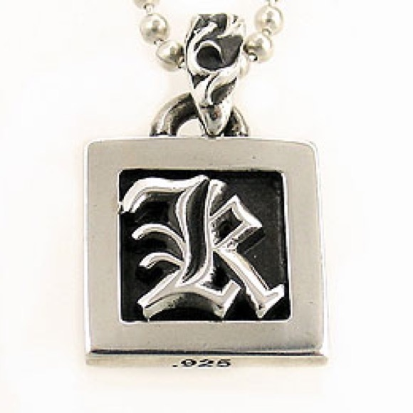 "3cbcdc03b682 Chrome Hearts Other - Chrome Hearts ""R"" or ""K"" Initial Pendant"